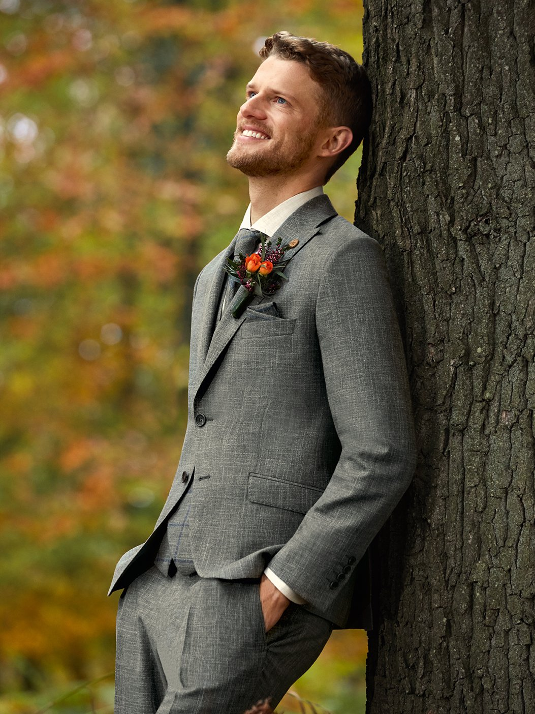 Sustainable wedding suit look no.4/2020