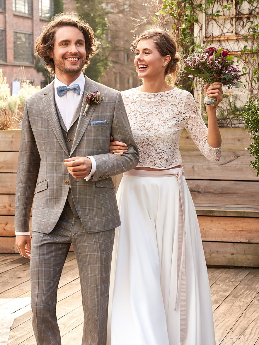 Sustainable wedding suit look no.4/2020: