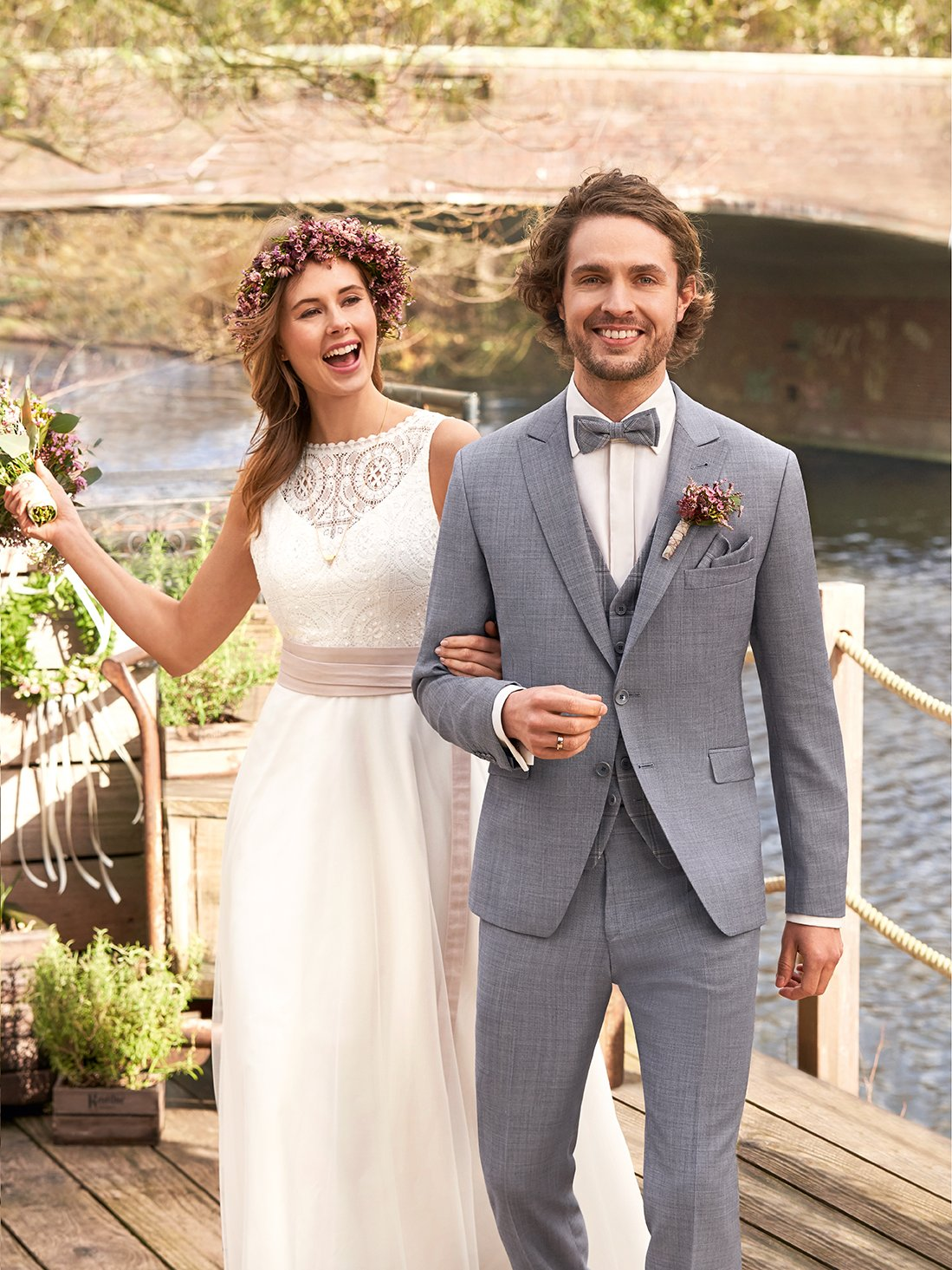 Sustainable wedding suit of our GREEN WEDDING Kollektion: